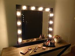full image for antique style vanity plug in light makeup mirror lighting ideas with lamps around