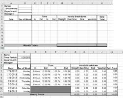 How To Use Excel As A Timesheet How To Build A Simple Timesheet In Excel 2016 Techrepublic