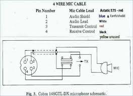 Cobra Power Mic Wiring Diagram Cobra CB Mic Wiring Colors