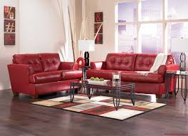 Raymour And Flanigan Living Room Furniture Impressive Decoration Red Leather Living Room Furniture Ingenious