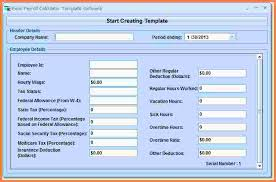 7 Excel Payroll Templates Samples Of Paystubs