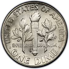 Dime Value Chart 1962 Roosevelt Dime Values And Prices Past Sales