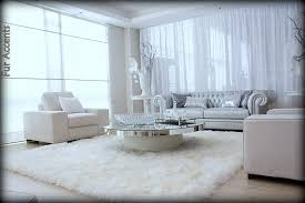 home design fascinating sheepskin area rug 4 pelt eggshell white sheep fur quatro fursource com