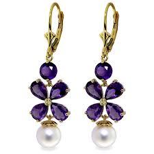 image is loading 6 28 ctw 14k solid gold chandelier earrings
