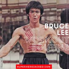 bruce lee workout routine and t plan