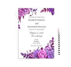 Wedding Invitations Templates Purple Blank Wedding Invitations Kits Cheap Invitation Template Cafe322 Com