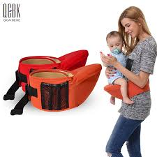 carrier for toddler. breathable fabric baby carrier hip seat backpack sling wrap carriers toddler hipseat kangaroo suspenders for