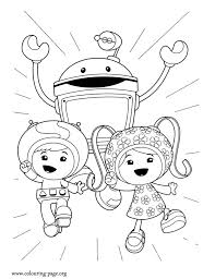 Small Picture Team Umizoomi Coloring Pages GetColoringPagescom
