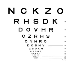 When Tested Using An Eye Chart Should You Read Aloud Any