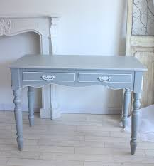 country corner romance romance collection french grey desk 2 drawers white house fixture