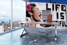 Banksy Life Is Beautiful Wall Mural Wallpaper Canvas Art Rocks