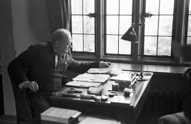winston churchill s essay on alien life found news comment kurt hutton picture post getty