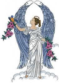 Image result for pretty angels in blue