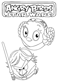 Small Picture Printable Coloring Pages Angry Birds Star Wars Coloring Pages