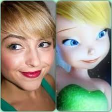 tinker bell hair and makeup tutorial