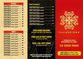 Menu Templates Design Menu Printing Free Menu Templates For Restaurants And Cafes