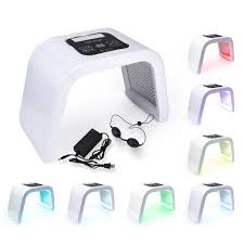 Led Light Therapy Machine 7 Color Led Pdt Light Therapy Skin Rejuvenation Facial Anti Aging Beauty Machine