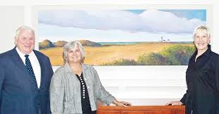 Lighthouse painting brightens conference room wall | Jamestown Press