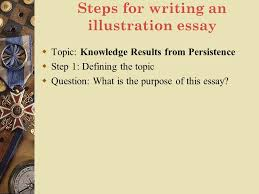 lecture eleven illustration ppt video online  steps for writing an illustration essay