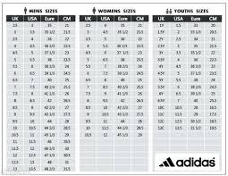 Puma Junior Size Chart Adidas Girls Size Chart Bedowntowndaytona Com