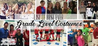 the best ever grade level costumes for teachers