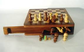 Wooden Board Game Sets Magnetic Travel Chess Sets IndiaMagnetic Chess Sets Manufacturer 60