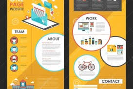 One Page Newsletter Templates 009 One Page Newsletter Template Ideas Attractive Website Design