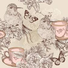 vintage birds background. Fine Background Vintage Flower And Birds Background Art Vector To Vintage Birds Background B