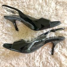 Albert Nipon Size Chart Albert Nipon Black Patent Leather Sling Back Shoe