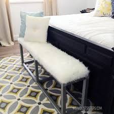 diy upholstered bed. Full Size Of Diy Upholstered Bench With Faux Metal Frame Sawdust Sisters Fascinating Images Ideas 32 Bed D