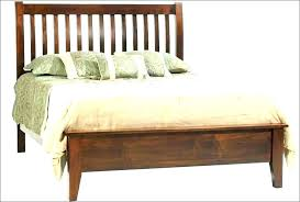 Mission Style California King Bed Frame Size Plans Home Improvement ...