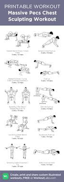 Bodybuilding Workout Chart For Men Pdf Pin By Mandeep Singh On Workout Routines Gym Workouts