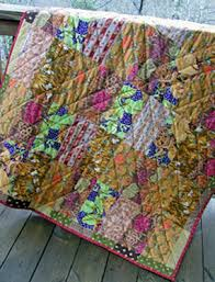 Make this Small Quilt Project and Practice the Basics - CraftStylish & When quilting with lively prints or busy fabrics such as the ones I used  for this Adamdwight.com