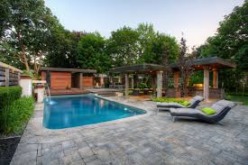 Modern Pool Designs And Landscaping Vaughan L Throughout Design