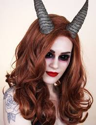 demon devil makeup