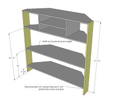 attachment corner tv cabinet