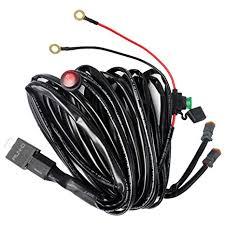 amazon com run d universal led light wiring harness kit, dual Off-Road Light Wiring Harness at Amazon Led Wiring Harness