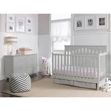 fisherprice caitlin in convertible crib misty gray  walmartcom