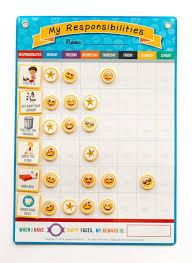 my responsibility chart kids emoji responsibility chart