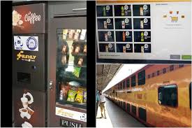 Automatic Vending Machine In India Fascinating Big Cheer IRCTC Installs Firstofitskind Automatic Food Vending