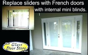 sliding glass door cost with installation installing a sliding patio door new patio door replacement cost