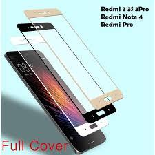 xiaomi redmi 3 3s pro redmi note 4 pro full color tempered glass 11street malaysia screen protector