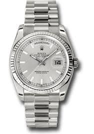 Ssp fluted Rolex President wg Day-date 118239 Bez president