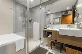 a bathroom at taipei garden hotel