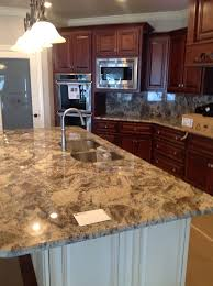Crema Bordeaux Granite Kitchen River Bordeaux Granite Kitchen Countertop Kitchen Update
