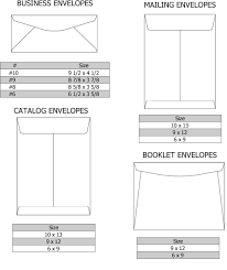Size Of 10 Envelope Envelopes Printing Envelope Sizes