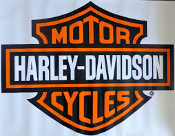 harley davidson bar shield extra large trailer decal sticker ebay