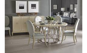 Image Living Room Baers Furniture Bernhardt Furniture Savoy Place Round Dining Table