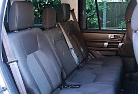 rear seat conversions for used land rover commercial discovery 4 using genuine land rover cloth rear