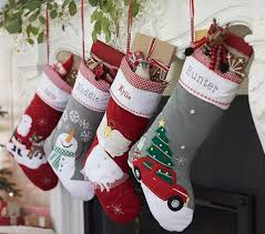 Quilted Stocking Collection | Pottery Barn Kids & Quilted Stocking Collection Adamdwight.com
